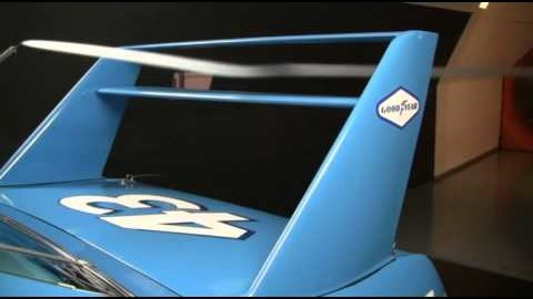 1971 NASCAR Superbird Doing Wind Tunnel Testing