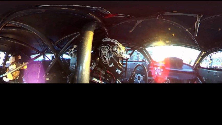 360Fly Camera Lets you Ride Shotgun in NHRA Pro Stock Car with Alex Laughlin