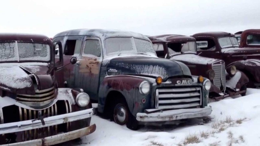Old Truck Graveyard - Will These Trucks Ever Be Saved?