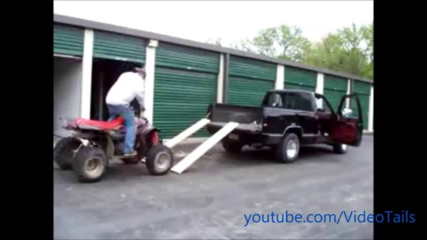 Top 10 ATV Fails - Loading and Unloading Isn't THAT Hard