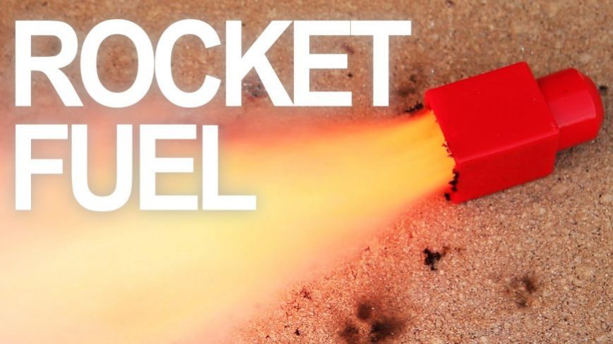 Homemade Rocket Fuel Using Common Household Items