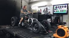 Turbo Hayabusa Quad On The Dyno is Straight Mayhem!