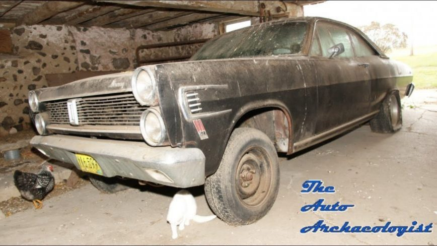 What an Incredible Find... The Barn Find 427 Comet Caliente