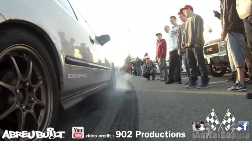 Doing a Burnout in Front of a Cop is NEVER a Good Idea