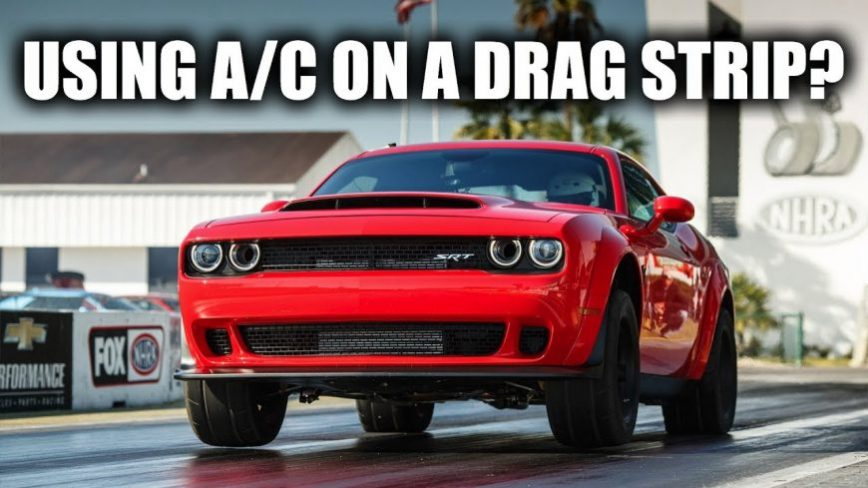 How The Dodge Demon Uses Air Conditioning For More Horsepower!