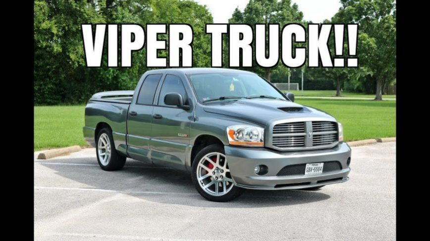Modified 2006 Dodge Ram SRT10 VIPER TRUCK!