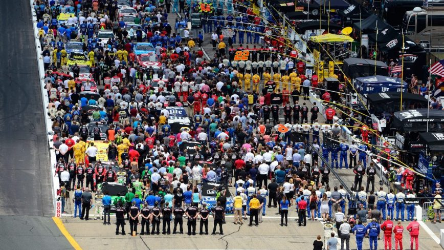 President Trump Singles Out NASCAR Regarding Anthem Protests; Dale Earnhardt Jr. Shows Support of Peaceful Protests