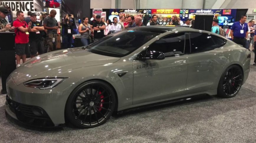 Widebody Tesla Steals the Show at SEMA, What Other Tesla Mods are Coming?