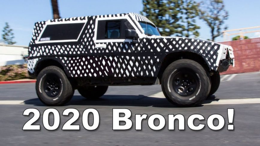 What to Expect With the 2020 Bronco When it Drops