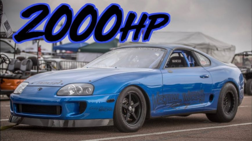 2000HP Toyota Supra - Cleanest Race Supras We've Ever Seen!