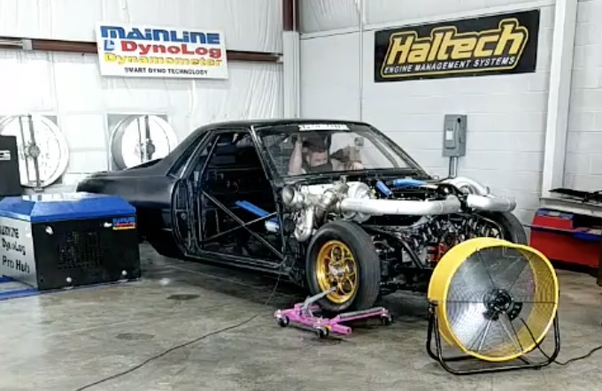 Kamikaze Chris Has The NEW Twin Turbo ElCo On The Dyno. Whats He Putting Down?