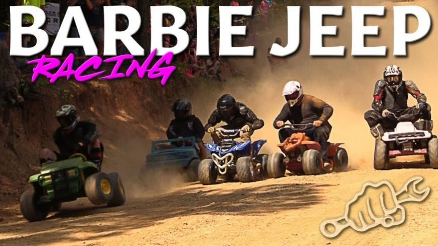 Extreme Barbie Jeep Racing 2018 at Stony Lonesome!
