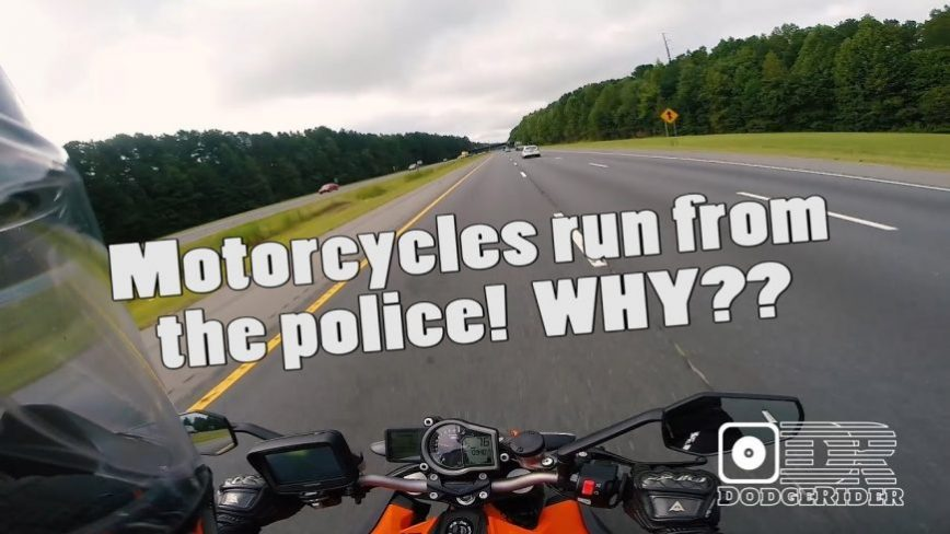 Why Do Motorcycle Riders Run From The Police?