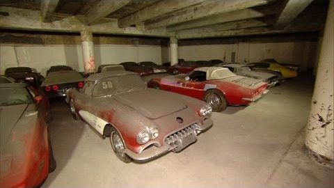 Abandoned Collection of 36 Corvettes is a Real Life Treasure Worth Millions