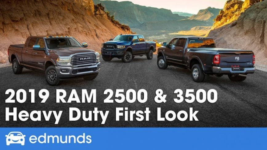 2019 Ram Heavy Duty 2500 and 3500 First In-Depth Look