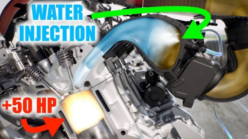 How BMW Uses Water to Gain 50 Horsepower