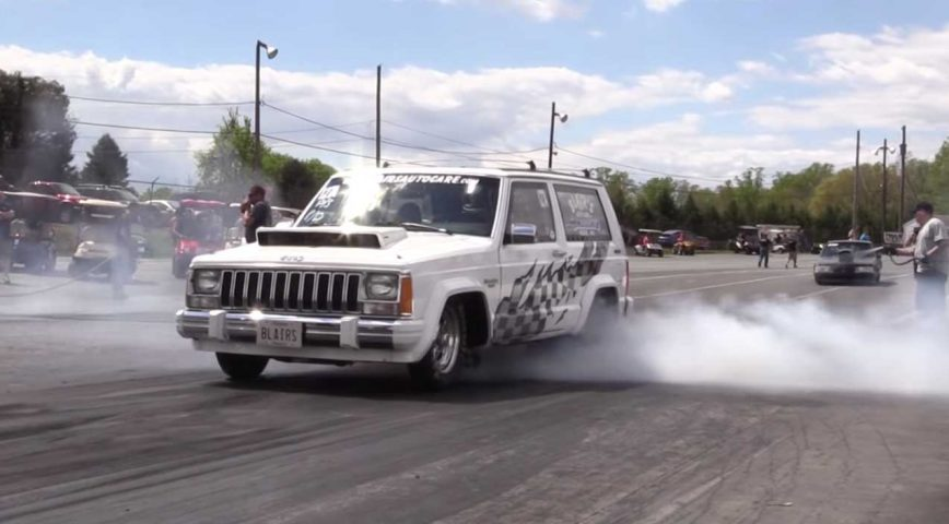 Meet The World's Fastest Jeep Cherokee