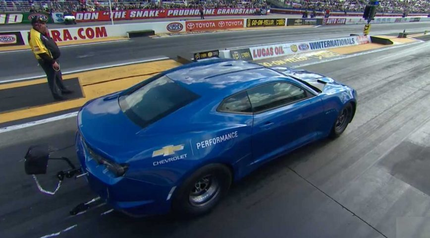Electric COPO Camaro Achieves 9 Second Pass