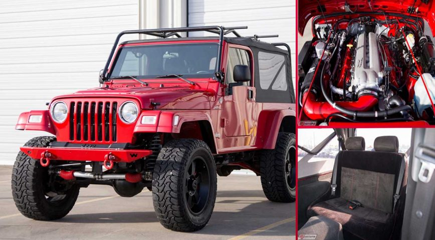 This Jeep Wrangler Might Have the Most Unlikely Viper Swap to Date