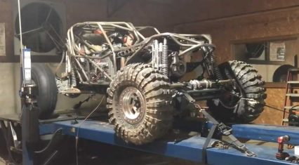 A Rock Racer On The dyno Might Be The Most violent Pull We've Seen Yet