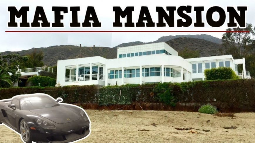 Exploring a $17m Abandoned Mob Boss Mansion With Cars and All!
