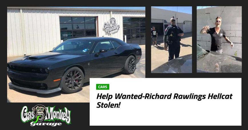 Richard Rawlings Recovers His Rare Stolen Hellcat on Facebook LIVE