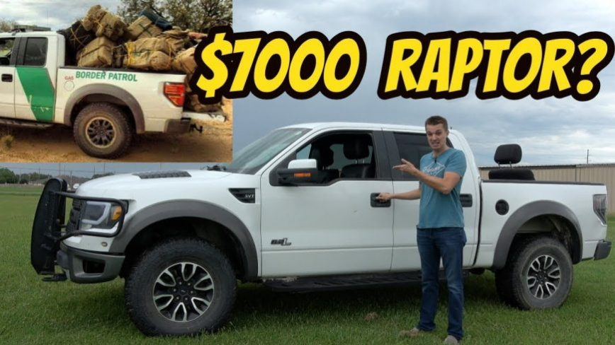 Checking Out a $7,000 Border Patrol Raptor, the Cheapest in the USA