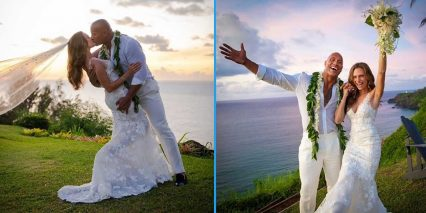 "Mega Star Car Enthusiast Dwayne ""The Rock"" Johnson Gets Married"