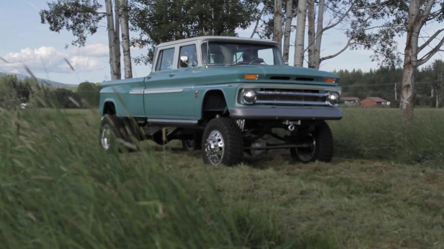 The '66 Chevy Crew Cab Doesn't Exist... Until Now (And it Has a Cummins!)
