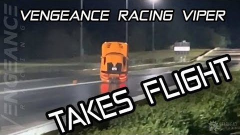World's Quickest And Fastest Viper Takes Flight At House Of Hook- Vengeance Racing