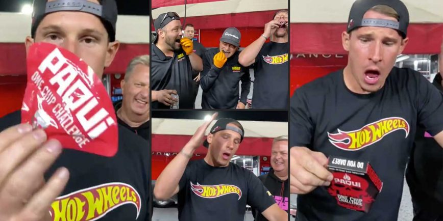 "Alex Laughlin and Elite Motorsports Team Take the ""Hottest Chip Challenge"""