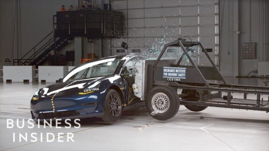 Why A Tesla Model 3 Received A 5 Star Crash Test Rating