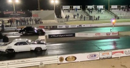 Mike Murillo, Cody Baker Drop Double Track Record in Epic Side By Side Drag Race