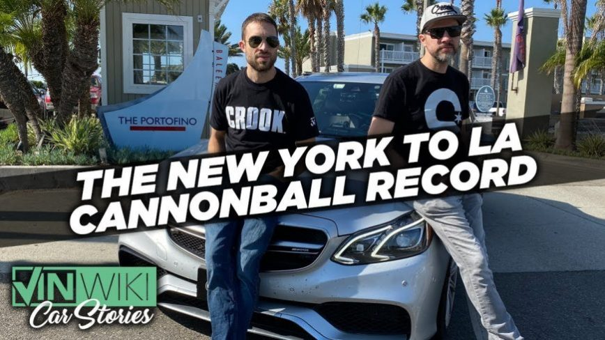 New Cannonball Run Record, Here's How They Did It And Made Their Car Invisible To Cops.