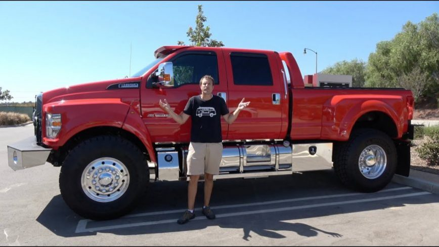 Reviewing the Ford F-650, the Ultimate $150,000 Super Truck