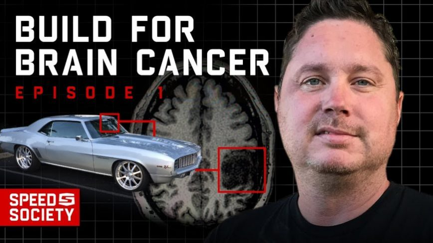 "Kristian's ""Build for Brain Cancer"" Hits the Big Time at SEMA"