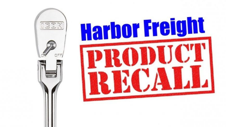 Popular Harbor Freight Tool Recalled Due to Possible Premature Failure