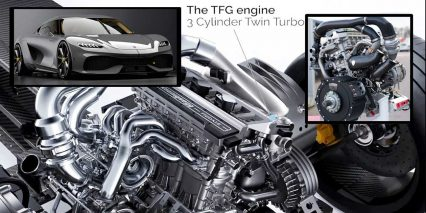 How Koenigsegg Squeezed 600hp Out of a 3 Cylinder Engine