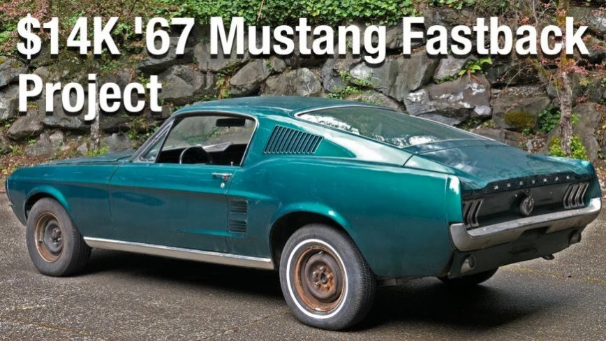 How Good Could a $14k Sight-Unseen Mustang Fastback Project Actually Be?