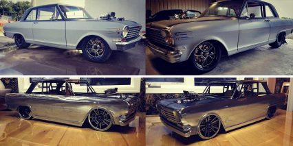 Fabricator Creates '63 Nova Out of Raw Sheet Metal