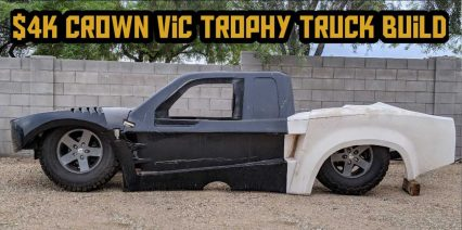 Build Series Converts a Common Crown Victoria Into a Badass Trophy Truck