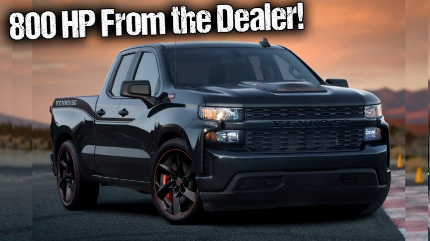 2021 Silverado Package to Offer More Horsepower Than a Shelby GT500
