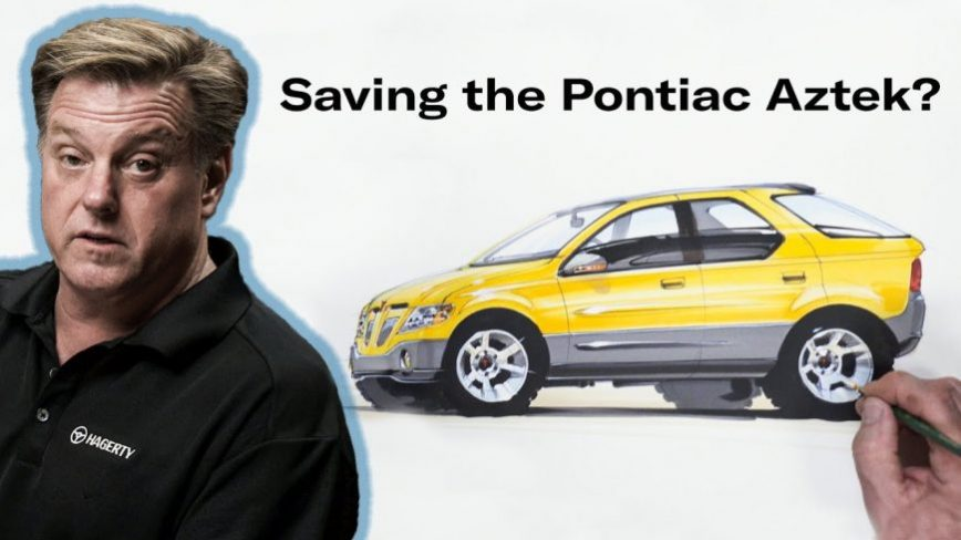 Chip Foose Attempts to Save Everyone's Favorite Ugly Duckling - The Pontiac Aztek