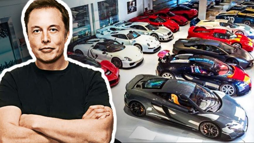 Elon Musk Has One of the Wildest CEO Car Collections in Existence