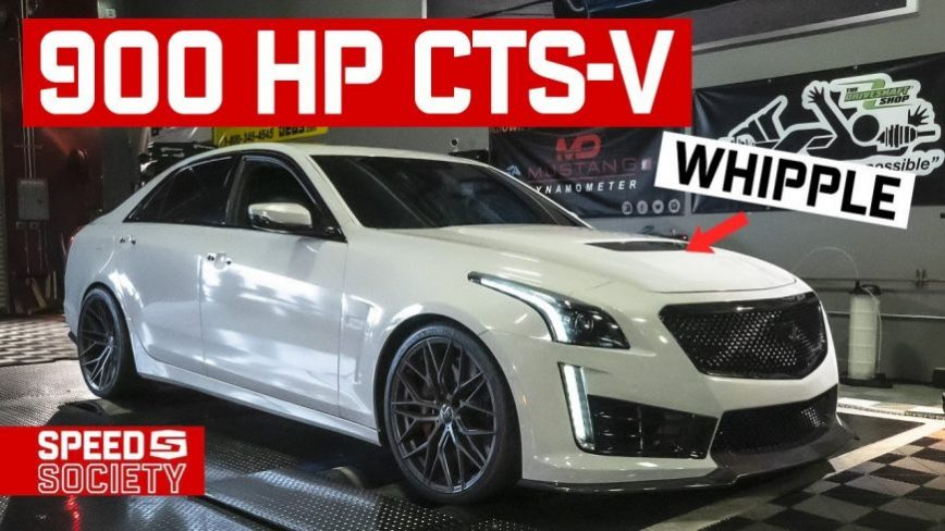 We're Giving Away ANOTHER CTS-V, it's Whipple Supercharged Making 900 Horsepower!