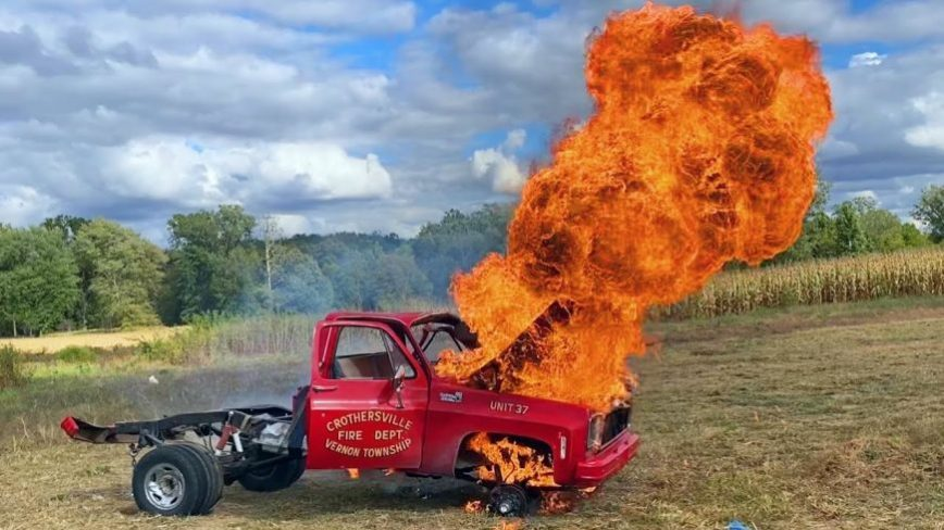 Haters Drove Him To Light His Square body On Fire