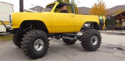 1,000HP + 1977 Ramcharger = Insanity!