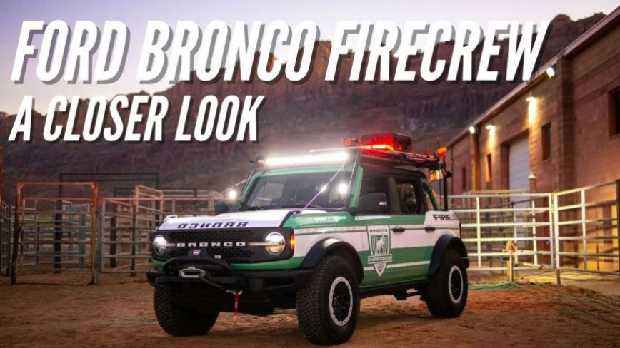Ford Bronco Converted to Off-Road Fire Fighting Beast