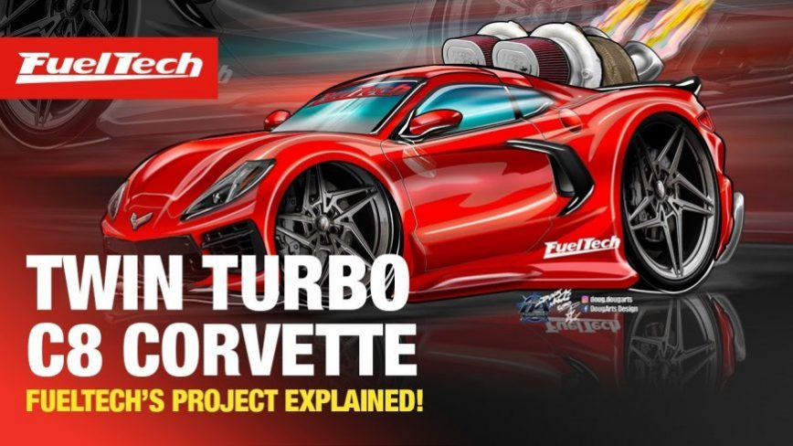 That Sound, Though - Touring FuelTech's Monstrous Twin Turbo C8 Corvette
