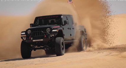 Hennessey Gets Insane, Swaps 1000 hp Hellcat Engine Into Tricked Out Gladiator